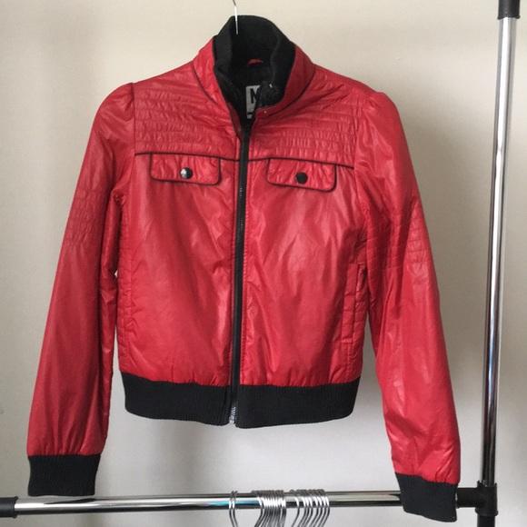 Xhilaration Jackets & Blazers - Red and Black Xhilaration Jacket